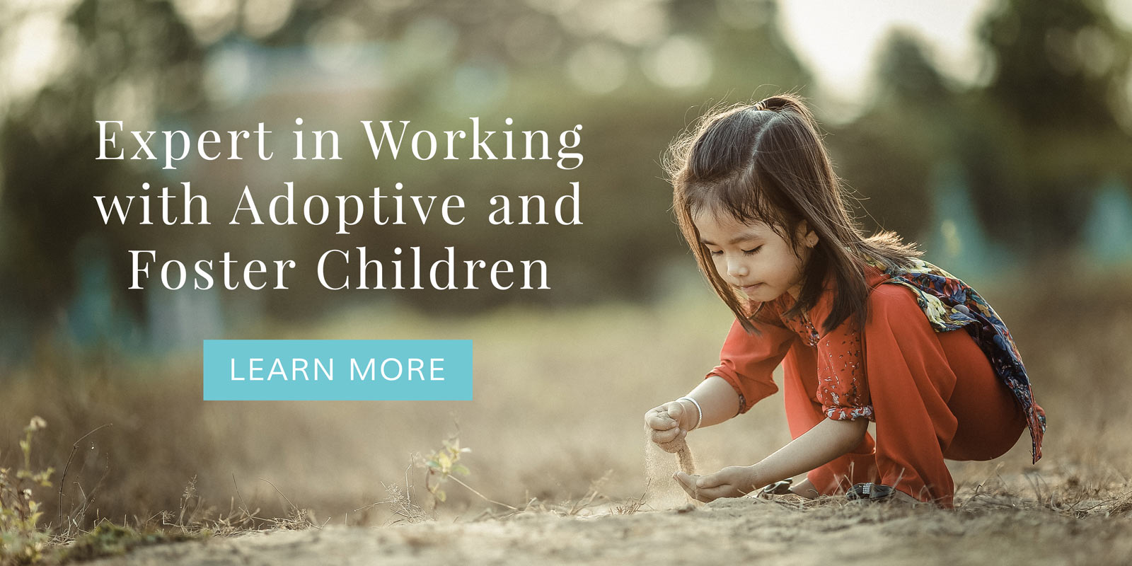 Child Counselor expert in therapy for foster and adoptive children